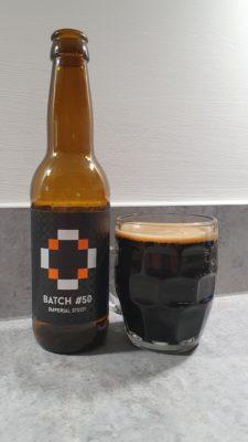 Batch #50 bottle and pour