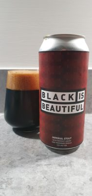 Black is Beautiful can and pour