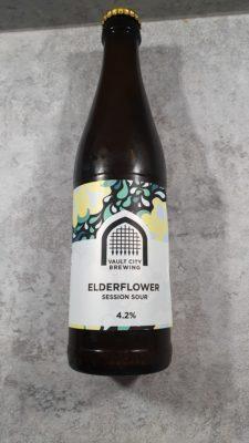 Elderflower sour bottle