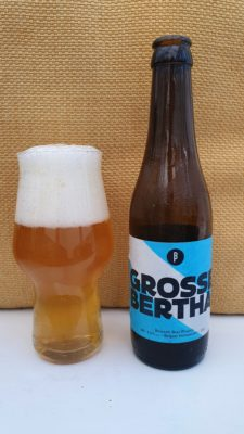 Grosse Bertha bottle and pour