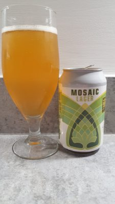 Mosaic can and pour