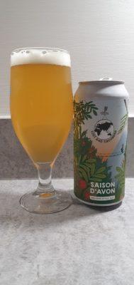 Saison d'Avon can and pour