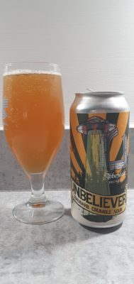 Unbeliever can and pour