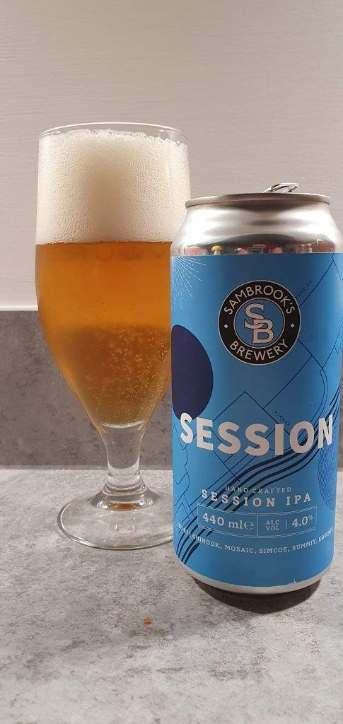 Sambrooks Session can and pour