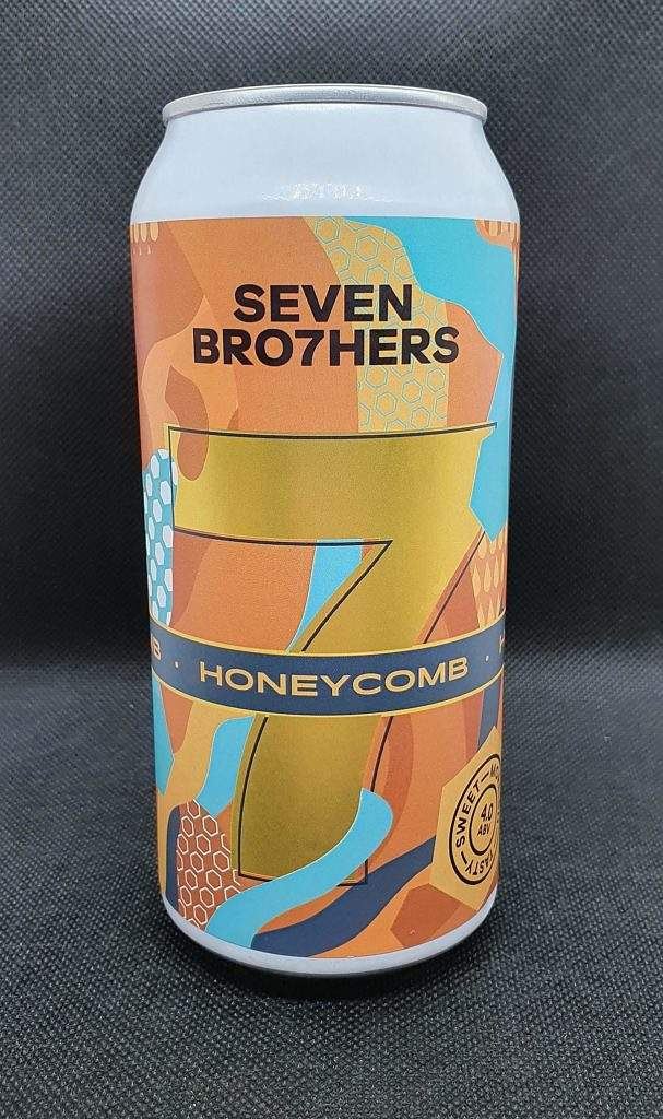 Honeycomb pale ale can